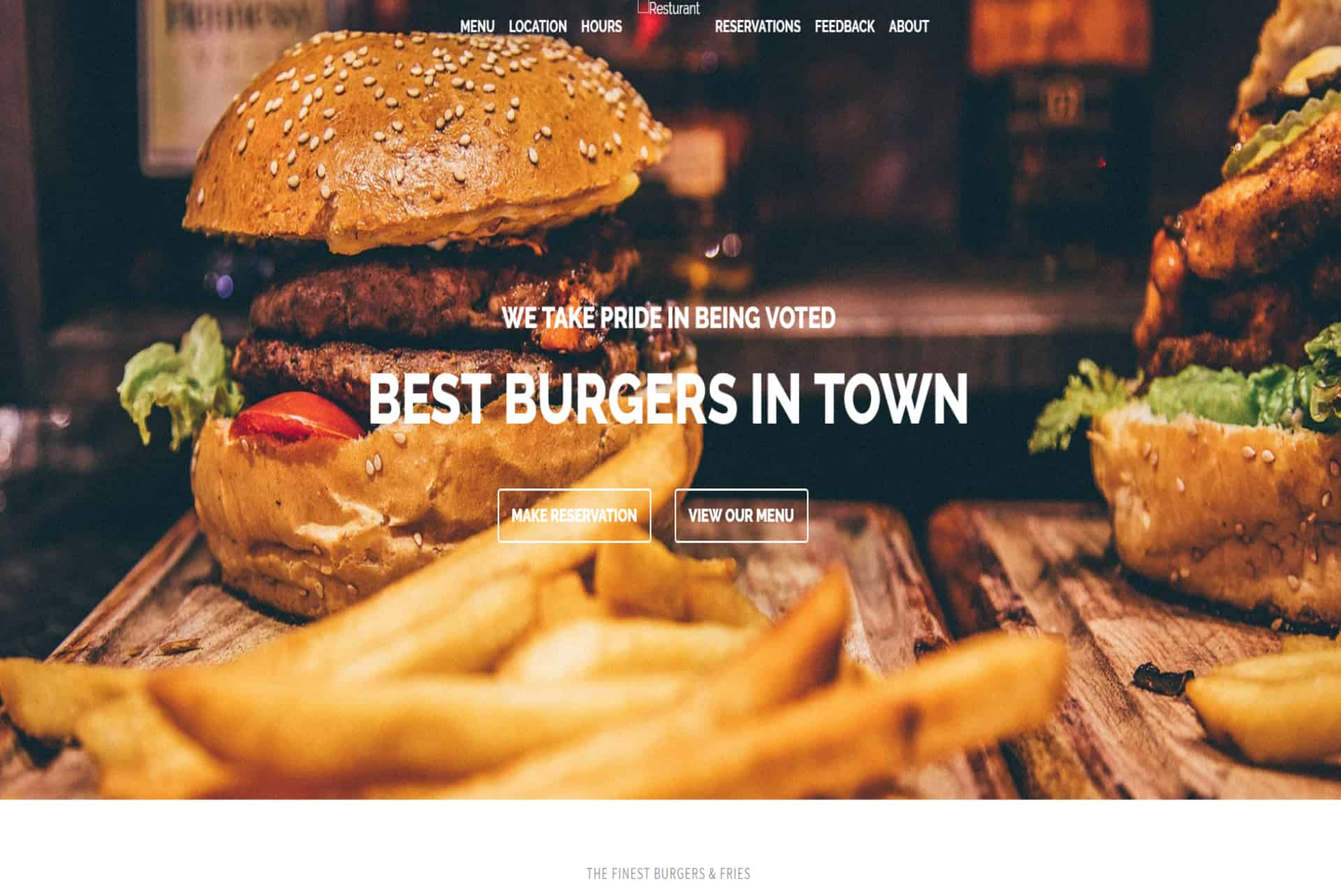Best-Burgers-web-development